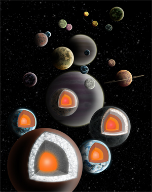 Diamond planets may be more common than astronomers thought.  	(Illustration by Haven Giguere)